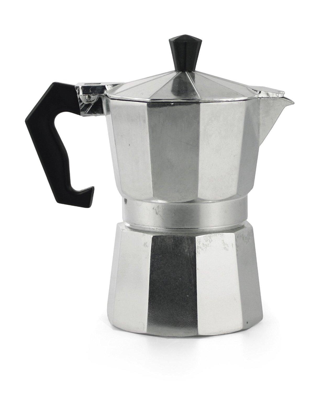 de aluminio para caf/é mocca y Espresso Napolitano Takestop/® Cafetera para 2/tazas
