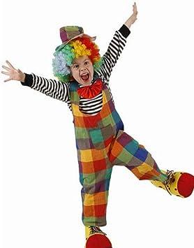 Desconocido Disfraz de payaso para niño: Amazon.es: Juguetes ...