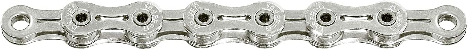 SunRace Unisexs CNR1X Chain Silver 116 Links