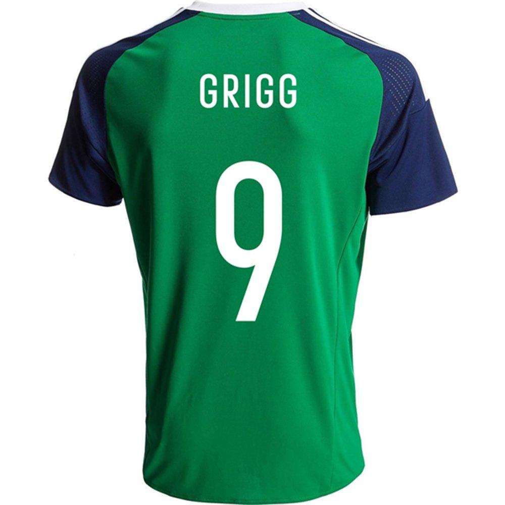 2016Super Hot Nordirland 9wird Grigg Home Football Jersey in Grün DQUKJS
