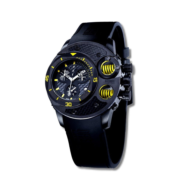 Offshore Limited Herren-Armbanduhr XL Commando Chronograph Silikon 003 C