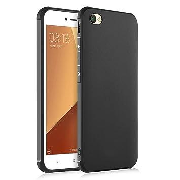 Hevaka Blade Xiaomi Redmi Note 5A Funda - TPU Carcasa Smart Case Cover Para Xiaomi Redmi Note 5A - Negro