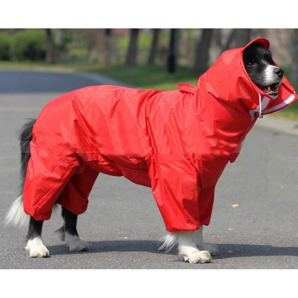PLDDY Ropa para Mascotas, Impermeable para Mascotas Gran ...