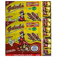 Golecha Fast Henna Cones 24 pcs
