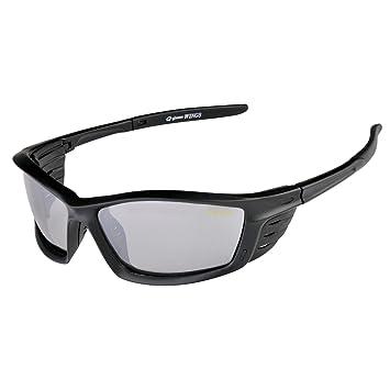 Gamakatsu Racer Polarisationsbrille Gray Red Mirror Angler Brille NNfmIs38cK