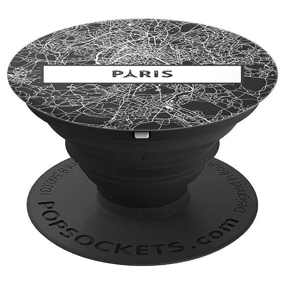 Map Of France Eiffel Tower.Amazon Com Paris France Eiffel Tower City Street Map Skyline Gifts