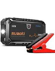 SUAOKI u282000A Punta De Auto Arranque batería de Arranque, con USB Power Bank, Pantalla LCD