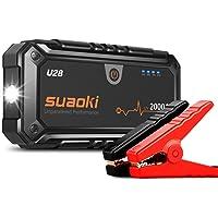 SUAOKI U28 2000A Arrancador de coche, con USB