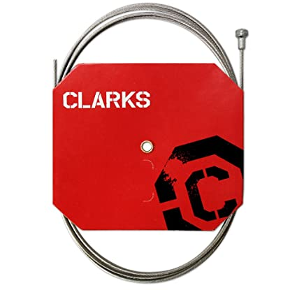 Clarks Galvanized Derailleur Cable Pack of 100 1.1 x 2030-mm