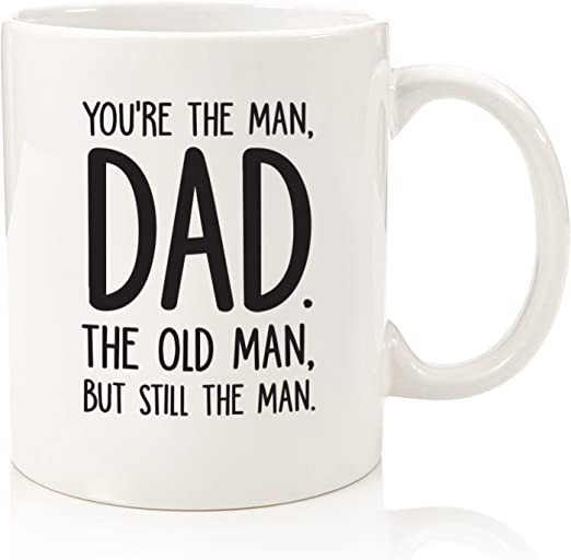 Amazon.com: Taza divertida con texto en inglés «The Man/The ...