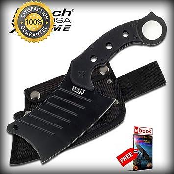 Amazon.com: Mtech - Cuchillo de cuchilla fija de 12.0 in con ...