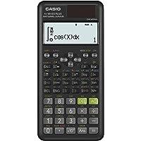 Pendancy Lot de 2 calculatrices de bureau /à /énergie solaire avec grand /écran 12 chiffres et gros boutons bleu