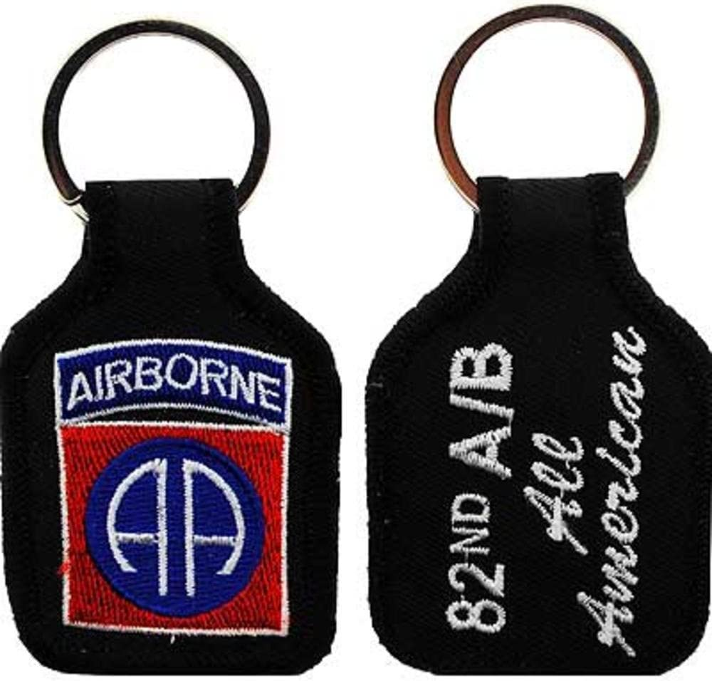 FindingKing U.S Army 82nd Airborne Keychain 2 3//4