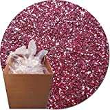 Glitter My World! Craft Glitter: 25lb Box: Bordeaux