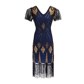 ca6e9d0897b09 ... Vintage Retro Vestidos Vestido Mujer