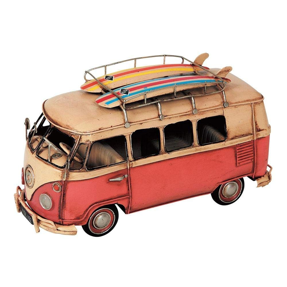 ブリキのおもちゃ「Carrir Van(キャリーバン)27431」/ブリキ製インテリア/雑貨 置物 サーフィン   B004TIL6SY