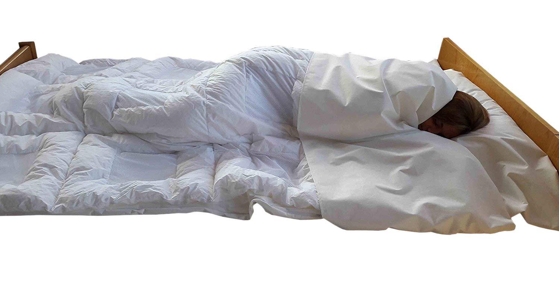 Allergie-Schlafsack 120 x 230 cm; Schlafsack für Allergiker
