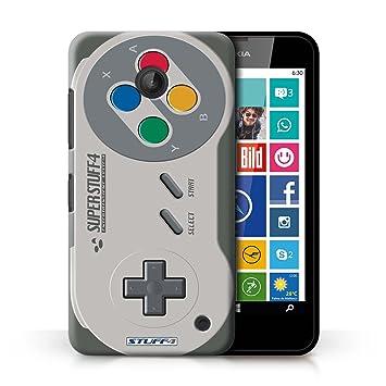 Carcasa/Funda STUFF4 dura para el Nokia Lumia 635 / serie: Consola de juegos - Super Nintendo
