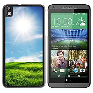 "For HTC DESIRE 816 , S-type Soleado paisaje"" - Arte & diseño plástico duro Fundas Cover Cubre Hard Case Cover"