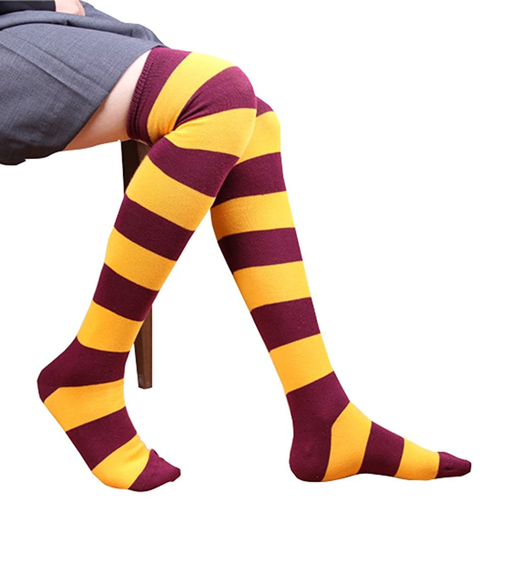 Womens Fashion Striped Warm Overknee Stockings yi wu zi ping wigs.Co.LTD OT-8658-S0F5