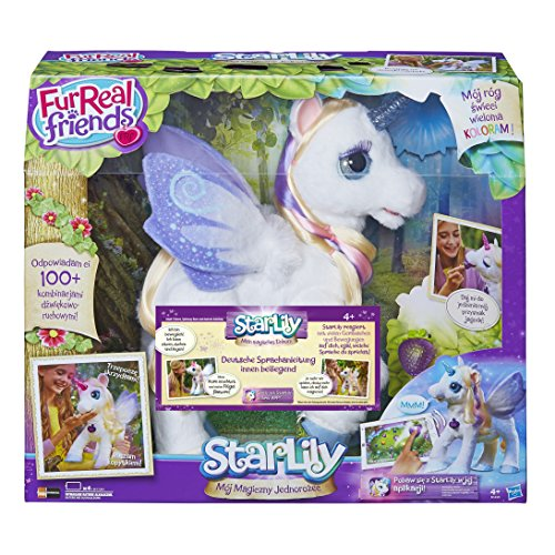 Hasbro FurReal Friends B0450351 StarLily, elektronisches Einhorn