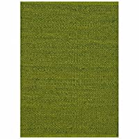 Acura Rugs Natural Jute Collection Area Rug, Hand Woven Jute Rug 5' x 8' Feet / 60