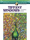 Creative Haven Magnificent Tiffany Windows Coloring Book (Adult Coloring)