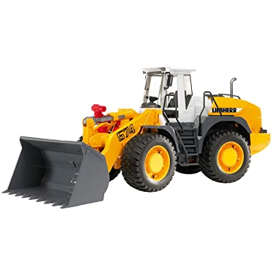 Bruder 02430 Liebherr Articulated Road Loader L 574 Toys Vehicle: Toys & Games
