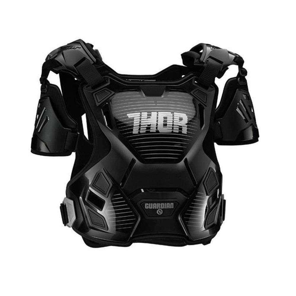 Thor 2017 Kinder Motocross//MTB Brustpanzer Schwarz-Silber Guardian