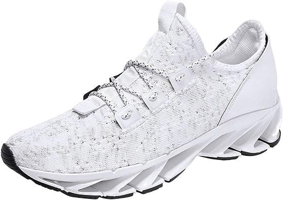 OPAKY Zapatillas de Deporte Respirable para Correr Deportes Zapatos Running Hombre Zapatillas Deportivas Ligeras Cómodas Transpirables para Caminar para Hombre Calzado para Correr: Amazon.es: Zapatos y complementos