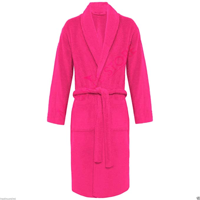 Other 100% Luxury Egyptian Cotton Super Soft Towelling Bath Robe Dressing  Gown Terry Towel Bathrobes  Amazon.co.uk  Clothing 7124e1620