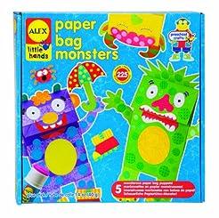 Alex Little Hands Paper Bag Monsters Kid...