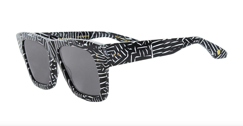 e7654269ada Amazon.com  Dita 19004-D-BZB-54-Z - Creator Sunglasses Soild Grey AR 54mm   Clothing