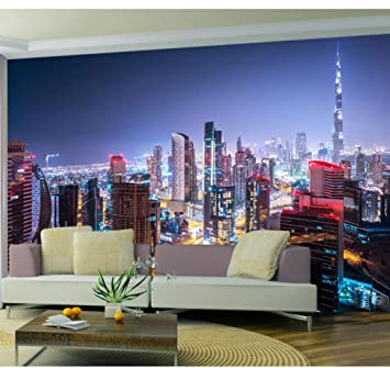 USA Skyline  Wall Mural Photo Wallpaper GIANT DECOR Paper Poster Free Paste