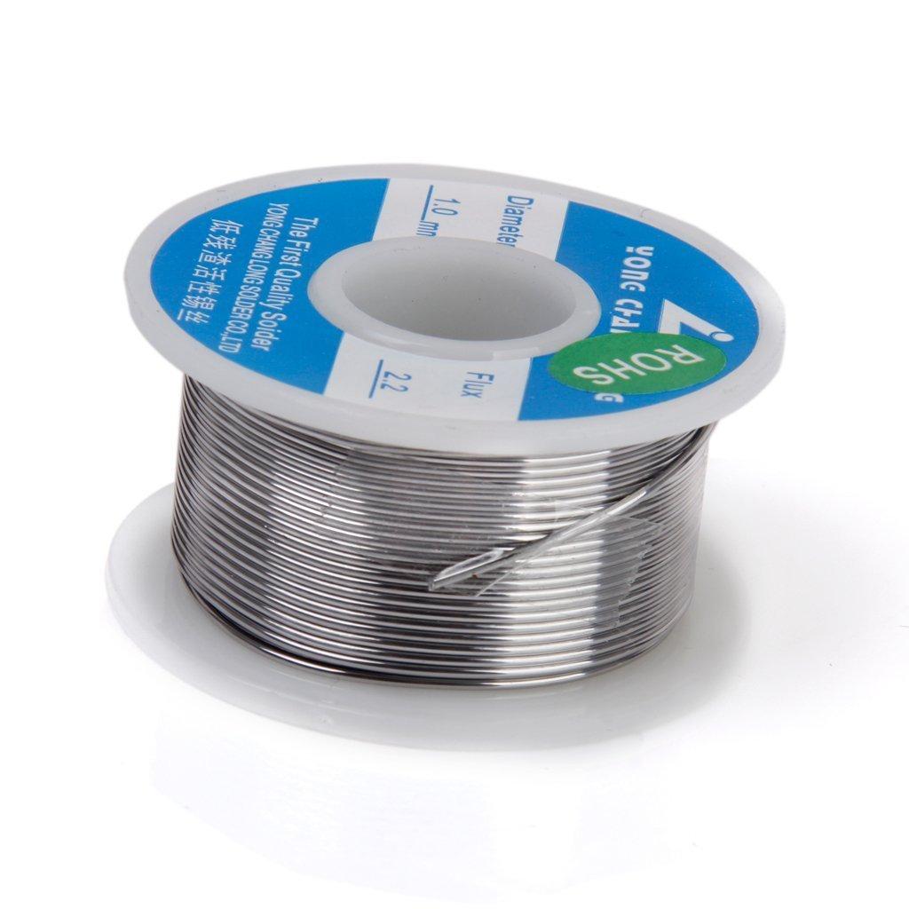 Amazon.com: 1 Spool Solder Tin Lead Wire Rosin Core 1mm Dia 35 Feet ...