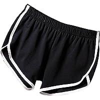 Soly Tech Women Summer Sports Shorts Gym Workout Waistband Skinny Shorts Pants