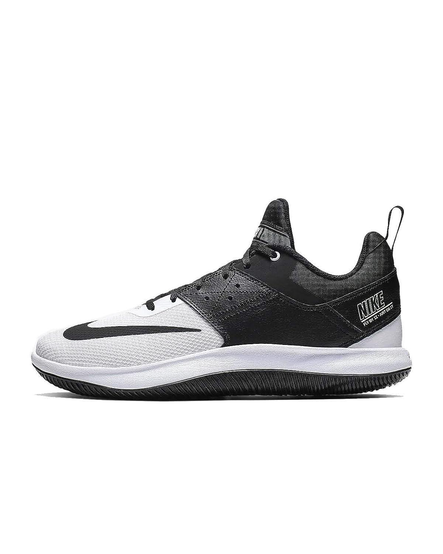 Low Ii Black-White Basketball Shoes