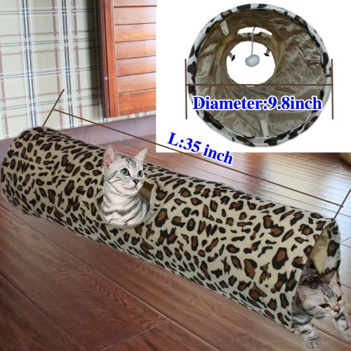 New Cat Tunnel Pet Play Toy Pet Toys with One Hole Fun Tunnel, My Pet Supplies