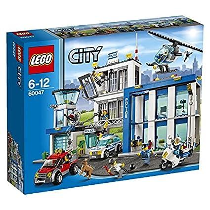 Lego City Comisaria De Policia 60047 Amazon Es Juguetes Y Juegos