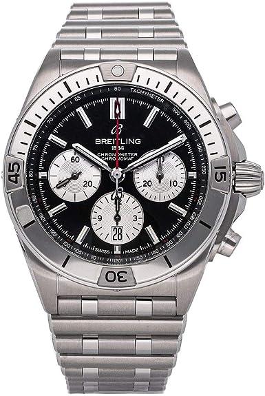 Breitling Chronomat BO1 42 (Stainless Steel Black / Silver)