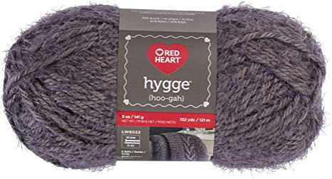 3 Pack Red Heart Hygge Yarn-Violet