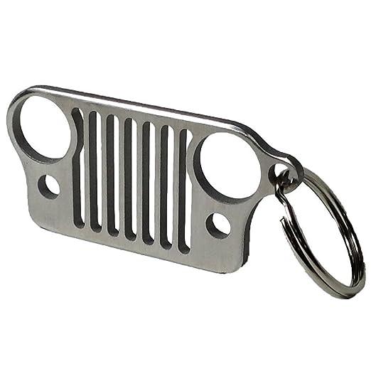 4 opinioni per Griglia Jeep in acciaio inox portachiavi