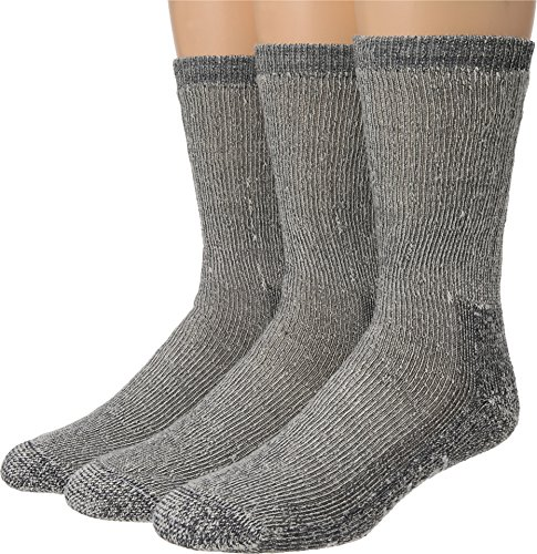 Smartwool Trekking Heavy Crew 3-Pack, Gray, LG (Men's Shoe 9-11.5, Women's Shoe 10-12.5)