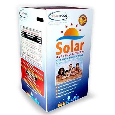 Amazon smartpool s601p sunheater solar heating system for in smartpool s601p sunheater solar heating system for in ground pool sciox Gallery