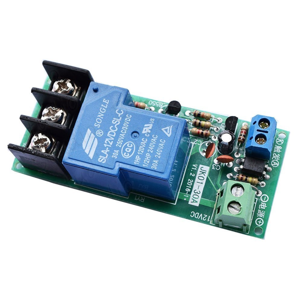 DC 12V 30A Multifunction Delay Timing on//off Timer Relay Module Switch Trigger