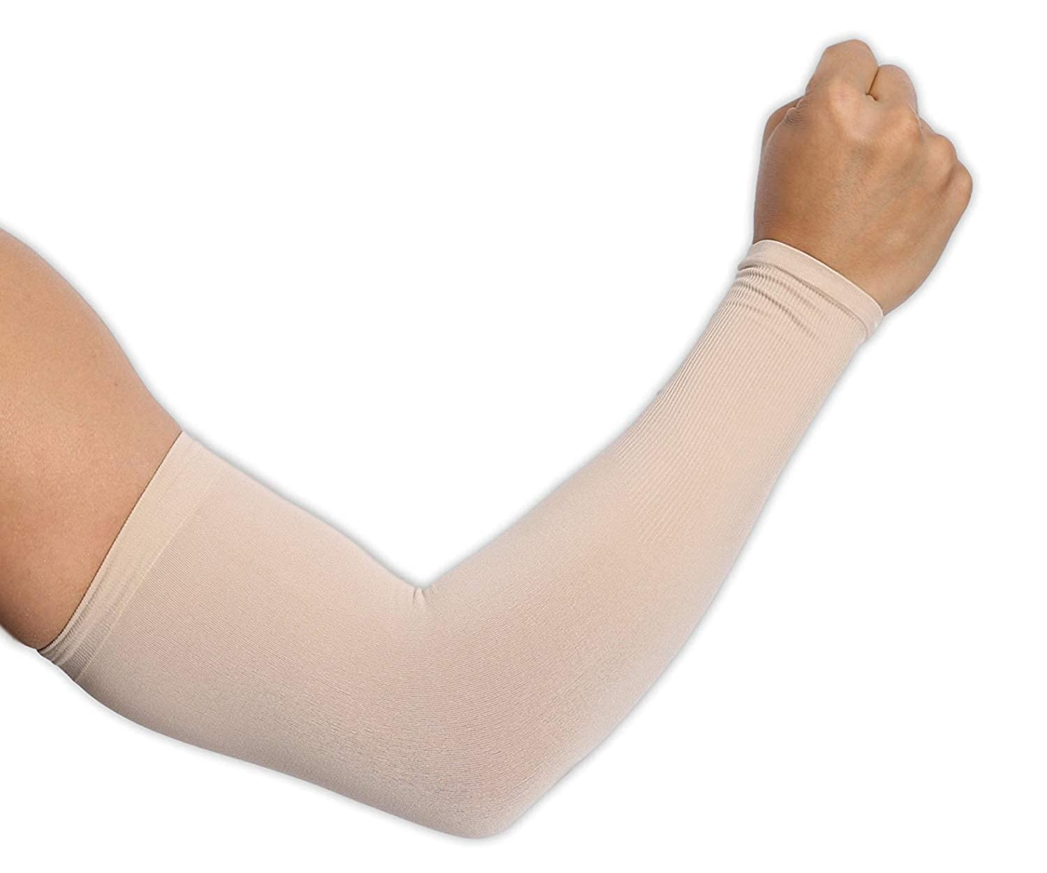 Pudolla UV Protection Arm Cooling Sleeves Sun Block Sleeves for Men Women