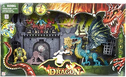 Legend Of Dragon Dragon Doom Castle Attack Playset by Legend: Amazon.es: Juguetes y juegos