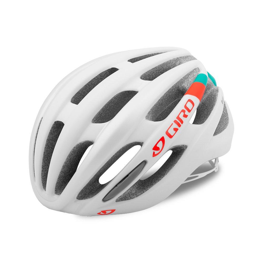Giro Saga MIPS Damen Rennrad Fahrrad Helm weiß türkis Orange 2017