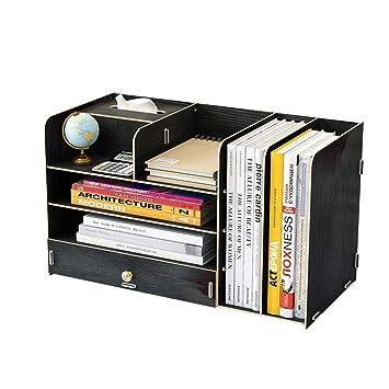 Organizador de archivos de madera, organizador de mesa, revista ...