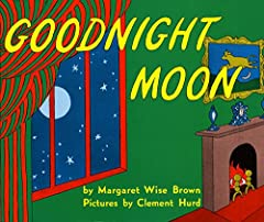 """In a great green room, tucked away in bed, is a little bunny. """"Goodnight room, goodnight moon."""" And to all the familiar things in the softly lit room—to the picture of the three little bears sitting on chairs, to the clocks and his soc..."""